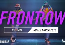 RIE HATA | FrontRow | World of Dance South Korea Qualifier 2016 | #WODKOR16
