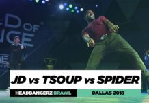 JD vs Tsoup vs Spider | Headbangerz Brawl Final Battle | World of Dance Dallas 2018 | #WODDALLAS18