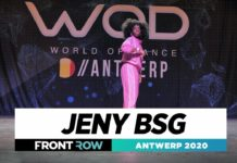Jeny BSG | Frontrow | World of Dance Antwerp 2020 | #WODANT2020